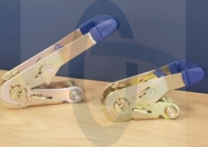 Ratchet 50mm/Breaking: 5000kg/LC: 2500daN/Color: yellow Zinc plated, Yellow110410012